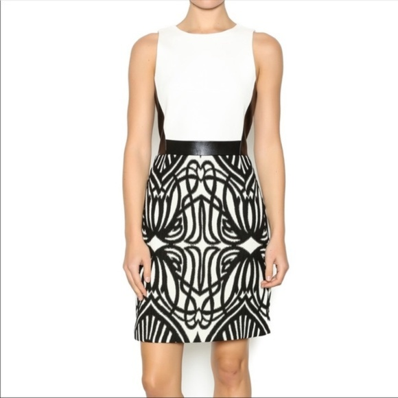 Anthropologie Dresses & Skirts - NWT 4.Collective Anthro Black Gold Metallic Dress
